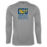 Performance Steel Longsleeve Shirt-CSU Coppin State Athletics