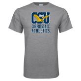 Grey T Shirt-CSU Coppin State Athletics