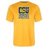 Performance Gold Tee-CSU Coppin State Athletics