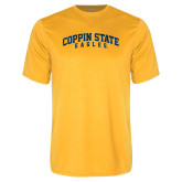 Performance Gold Tee-Arched Coppin State Eagles
