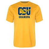 Performance Gold Tee-Grandpa