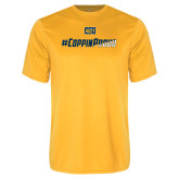Performance Gold Tee-#CoppinProud