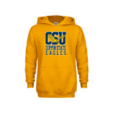 Youth Gold Fleece Hoodie-CSU Coppin State Eagles