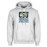 White Fleece Hoodie-CSU Coppin State Athletics