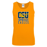 Gold Tank Top-CSU Coppin State Eagles