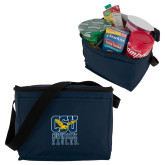 Six Pack Navy Cooler-CSU Coppin State Eagles