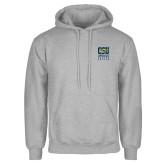 Grey Fleece Hoodie-CSU Coppin State Eagles