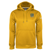 Under Armour Gold Performance Sweats Team Hoodie-CSU Coppin State Eagles