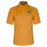 Gold Dri Mesh Pro Polo-Official Logo