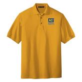 Gold Easycare Pique Polo-CSU Coppin State Eagles