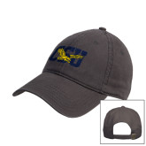 Charcoal Twill Unstructured Low Profile Hat-Official Logo