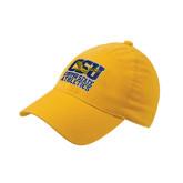 Gold Flexfit Mid Profile Hat-CSU Coppin State Eagles