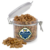 Cashew Indulgence Round Canister-Official Logo