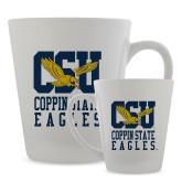 Full Color Latte Mug 12oz-CSU Coppin State Eagles