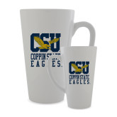 Full Color Latte Mug 17oz-CSU Coppin State Eagles