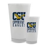 Full Color Glass 17oz-CSU Coppin State Eagles