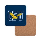 Hardboard Coaster w/Cork Backing-Official Logo