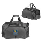 Challenger Team Charcoal Sport Bag-CSU Coppin State Eagles