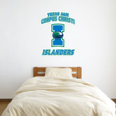 2 ft x 3 ft Fan WallSkinz-Texas A&M Corpus Christi Islanders
