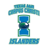 Medium Decal-Texas A&M Corpus Christi Islanders, 8 in H
