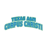 Medium Decal-Arched Texas A&M Corpus Christi, 8 in W