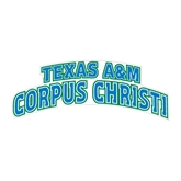 Large Decal-Arched Texas A&M Corpus Christi, 12 in W