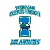 Small Decal-Texas A&M Corpus Christi Islanders, 6 in H