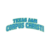 Small Decal-Arched Texas A&M Corpus Christi, 6 in W