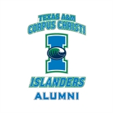 Alumni Decal-Texas A&M Corpus Christi Islanders, 6 in H