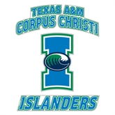 Extra Large Decal-Texas A&M Corpus Christi Islanders, 18 in H