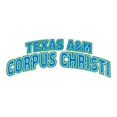 Extra Large Decal-Arched Texas A&M Corpus Christi, 18 in W