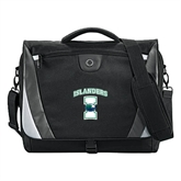 Slope Black/Grey Compu Messenger Bag-Islanders w/I