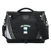 Slope Black/Grey Compu Messenger Bag-Islanders w/I
