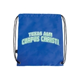 Royal Drawstring Backpack-Arched Texas A&M Corpus Christi