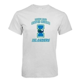 White T Shirt-Texas A&M Corpus Christi Islanders
