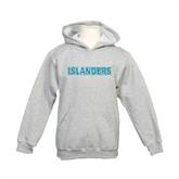 Youth Grey Fleece Hood-Islanders