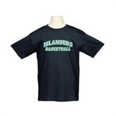Youth Black T Shirt-Basketball