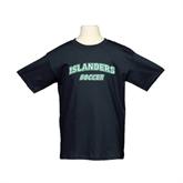 Youth Black T Shirt-Soccer