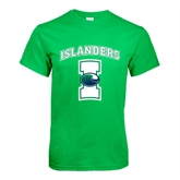 Kelly Green T Shirt-Islanders w/I