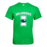 Kelly Green T Shirt-Islanders w/I