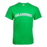 Kelly Green T Shirt-Arched Islanders