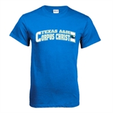 Royal T Shirt-Arched Texas A&M Corpus Christi Design