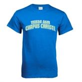 Royal T Shirt-Arched Texas A&M Corpus Christi