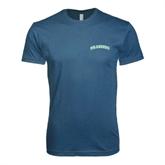 Next Level SoftStyle Indigo Blue T Shirt-Arched Islanders