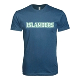 Next Level SoftStyle Indigo Blue T Shirt-Islanders