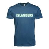 Next Level SoftStyle Indigo Blue T Shirt-Islanders