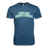 Next Level SoftStyle Indigo Blue T Shirt-Arched Texas A&M Corpus Christi