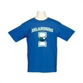 Youth Royal T Shirt-Islanders w/I