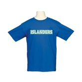 Youth Royal T Shirt-Islanders