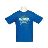 Youth Royal T Shirt-Islanders Basketball
